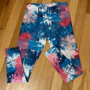 Girls size medium leggings